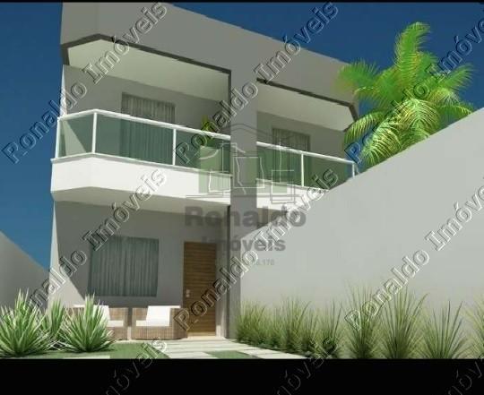 R162 – Linda casa duplex 02 suítes, Primeira locação, Vila do Peró – Cabo Frio