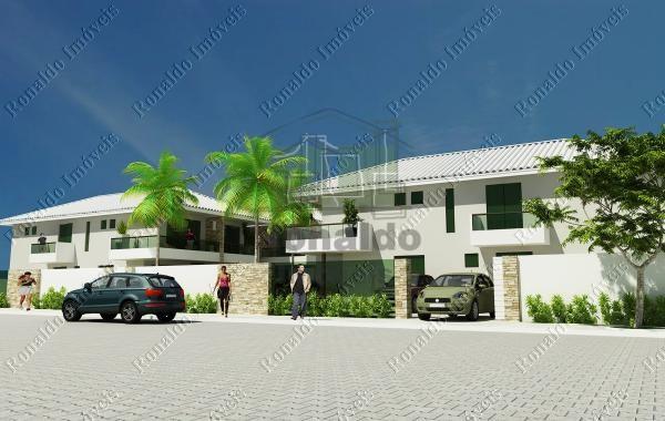 R96 – Casa em condomínio, saída para para canal navegável – Cabo Frio