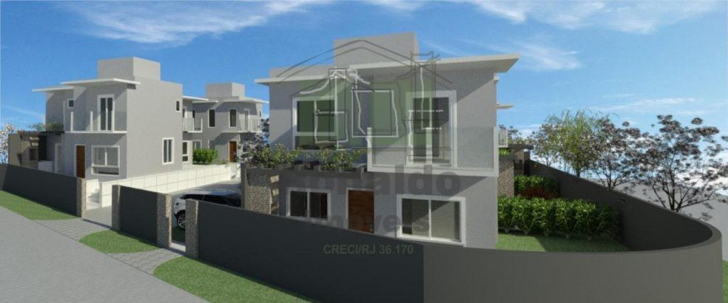 R257 – Lançamento! Casa duplex, 03 quartos / 02 suítes, Cabo Frio – RJ